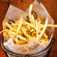 garlic-herb-fries