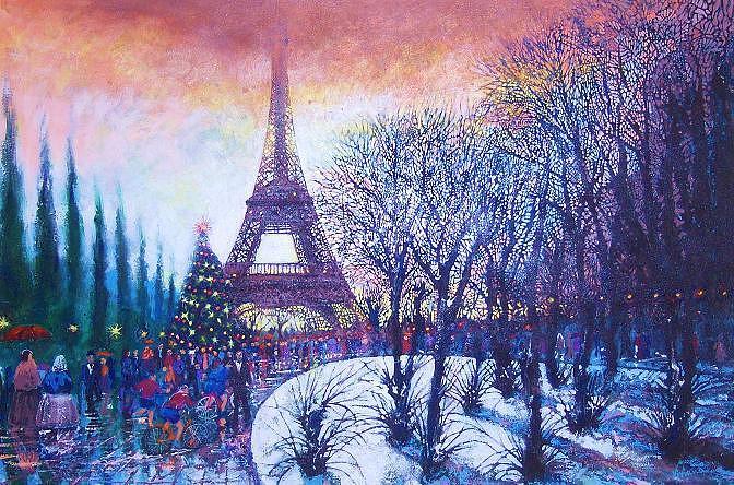 Christmas In Paris Holiday Menu - Plate 38