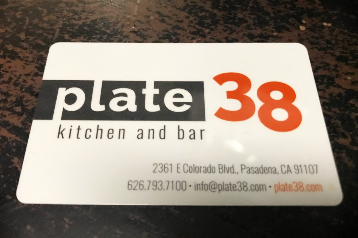 gift card plate38