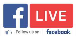 follow us on facebook live