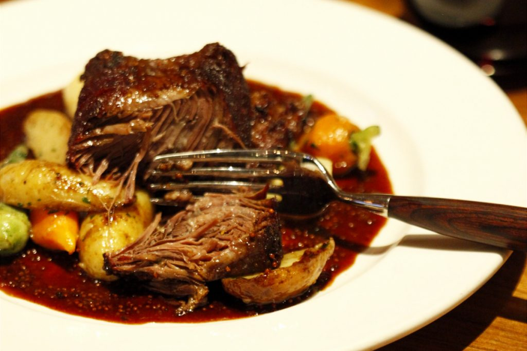 braised short rib family pack