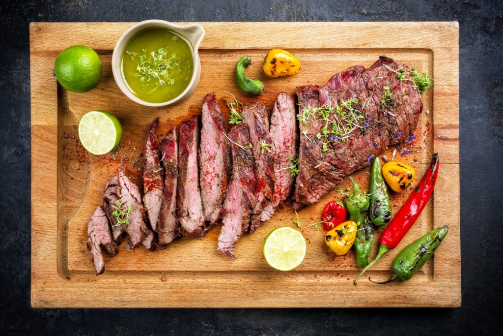 southwest usda flat iron steak