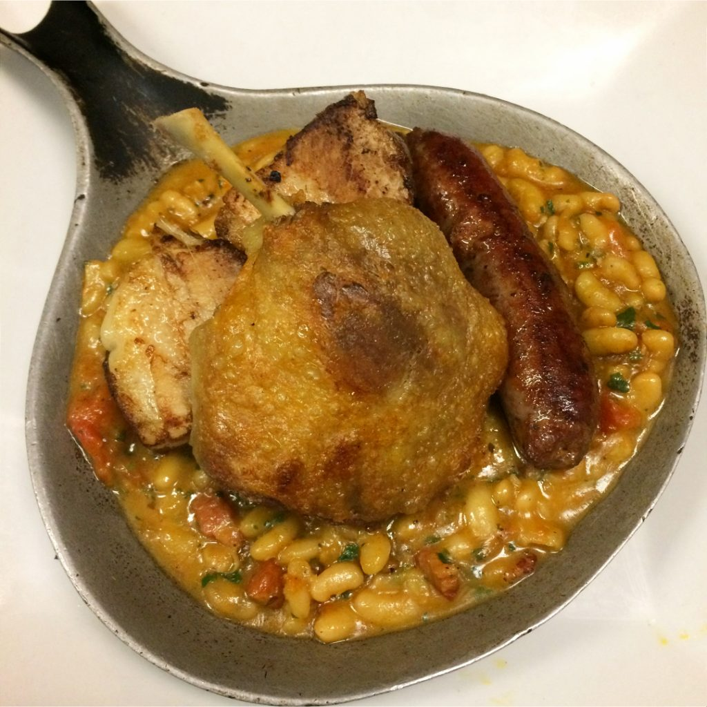traditional french cassoulet by plate38 restaurant in pasadena, ca