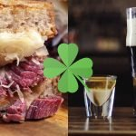st patrick's day specials, corned beef sandwich, irish slammer